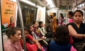 delhi metro india women