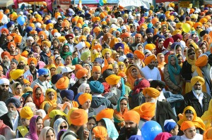 Surrey Vaisakhi 2012. BOAZ JOSEPH / THE LEADER