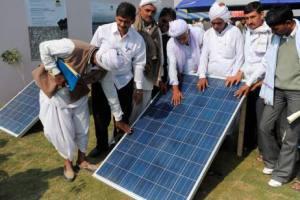 INDIA-ENVIRONMENT-SOLAR