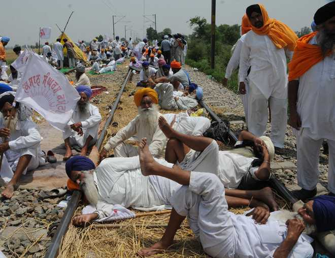 Image Result For Punjab Farmers Protest